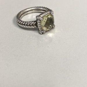 David Yurman Chatelaine ring size 8